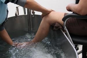 rehabilitación agua Artricenter