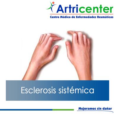 Esclerosis sistémica-ARTRICENTER-BLOG