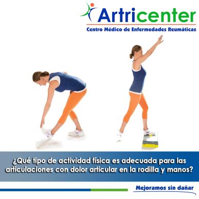 actividad física-ARTITIS-ARTRICENTER-BLOG