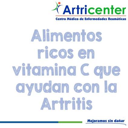 Alimentos ricos en vitamina C que ayudan con la Artritis-artricenter