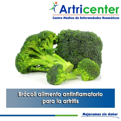 Brócoli alimento antinflamatorio para la artritis-artricenter