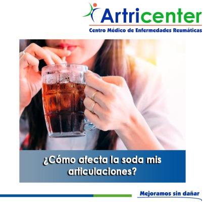 Cómo afecta la soda mis articulaciones-artricenter