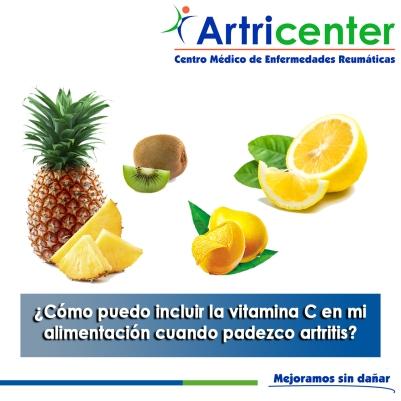 Cómo puedo incluir la vitamina C en mi alimentación cuando padezco artritis-artricenter