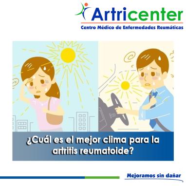 Cuál es el mejor clima para la artritis reumatoide-artricenter