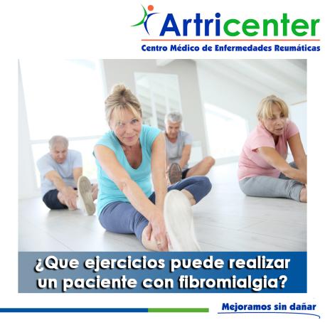 ejercicios puede realizar un paciente con fibromialgia-artricenter