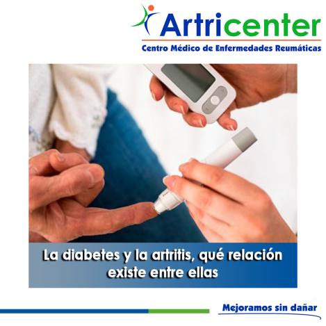 La diabetes y la artritis, qué relación existe entre ellas-artricenter