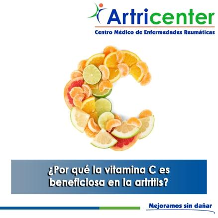 Por qué la vitamina C es beneficiosa en la artritis-artricenter
