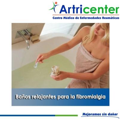 Baños relajantes para la fibromialgia-artricenter