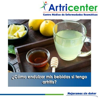 Cómo endulzar mis bebidas si tengo artritis-artricenter