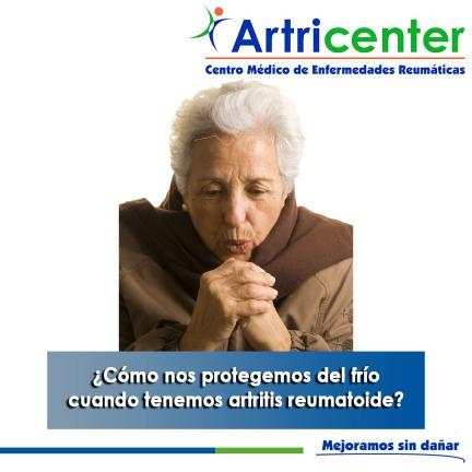 Cómo nos protegemos del frío cuando tenemos artritis reumatoide-artricenter