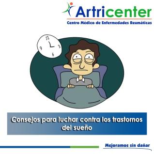 Consejos para luchar contra los trastornos del sueño - artricenter