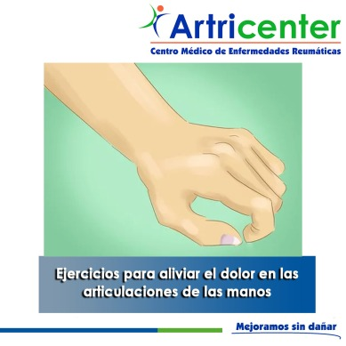 Ejercicios para aliviar el dolor en las articulaciones de las manos-artricenter