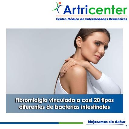 Fibromialgia vinculada a casi 20 tipos diferentes de bacterias intestinales-artricenter