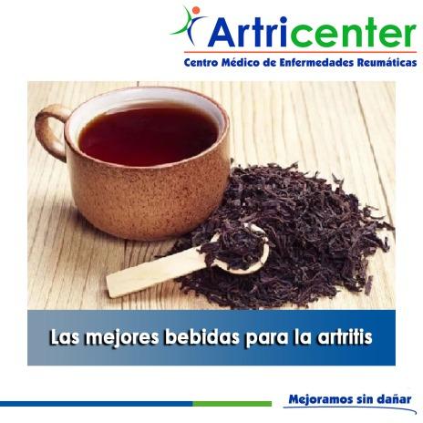 Las mejores bebidas para la artritis-artricenter