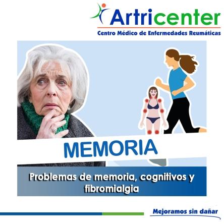 Problemas de memoria, cognitivos y fibromialgia-artricenter