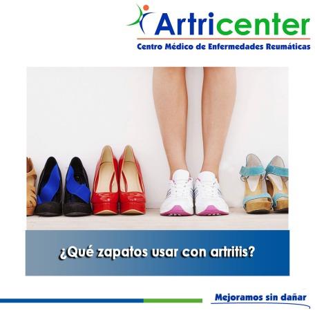 Qué zapatos usar con artritis-ARTRICENTER
