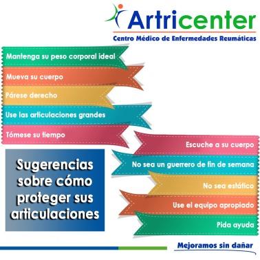 Sugerencias sobre cómo proteger sus articulaciones-artricenter