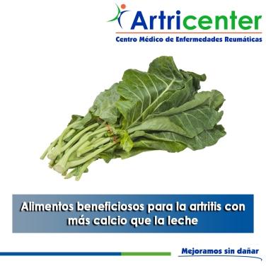 Alimentos beneficiosos para la artritis con más calcio que la leche-artricenter