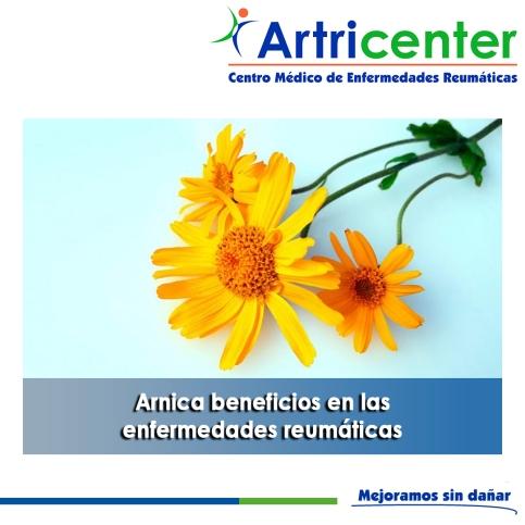 Arnica beneficios en las enfermedades reumáticas-artricenter