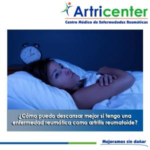 Artricenter, dormir con una enfermedad reumática