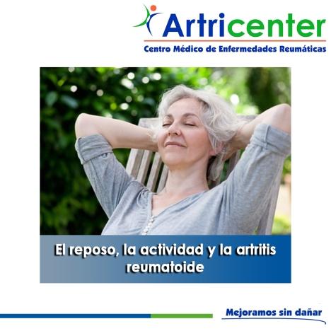 El reposo, la actividad y la artritis reumatoide-artricenter